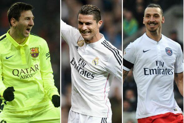 La revista France Football elaboró una lista de los 20 futbolistas mejor...