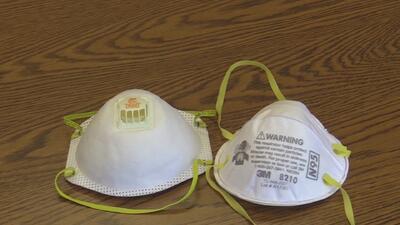 Debido a la contaminación por incendios, recomiendan el uso de mascarillas al estar a la intemperie