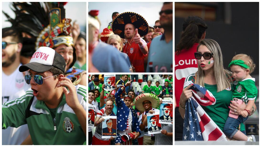 Rivalidad bien entendida: México y USA, confraternizados en el Azteca 1.jpg