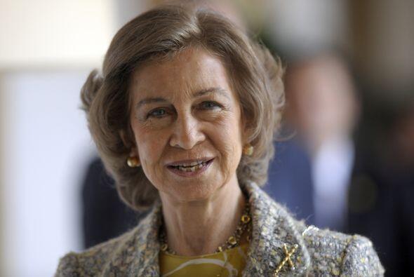 Desde 1975 Sofía es reina de España y princesa de Grecia y Dinamarca.