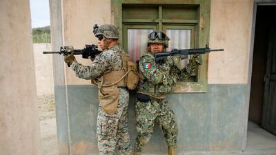 México participa en el mayor simulacro de guerra que organiza EEUU (fotos)