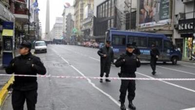 Los policías argentinos llevan una semana en protestas. (Imagen de Archi...