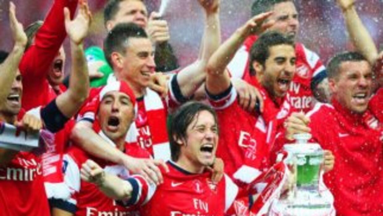 Arsenal ganó la FA Cup para acabar con una larga sequía de títulos.