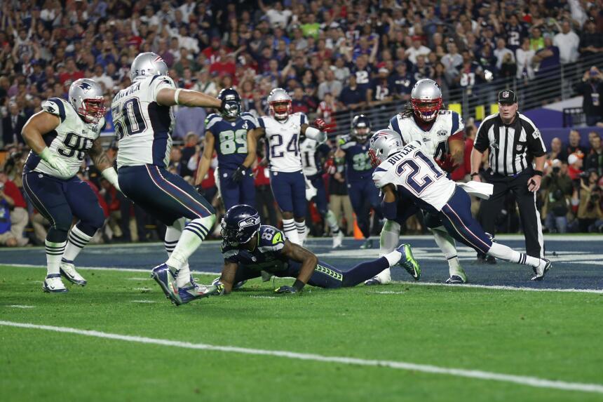 Patriots ganan un Super Bowl memorable - El cuarto pase de touchdown Bra...