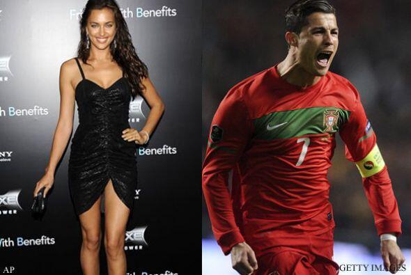 IRINA SHAYK Y CRISTIANO RONALDO: El futbolista portugués y su espectacul...