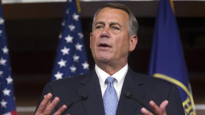 John Boehner: Si el Presidente toma acciones migratorias, no habría reforma