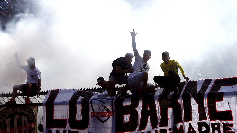 Violencia fútbol chileno