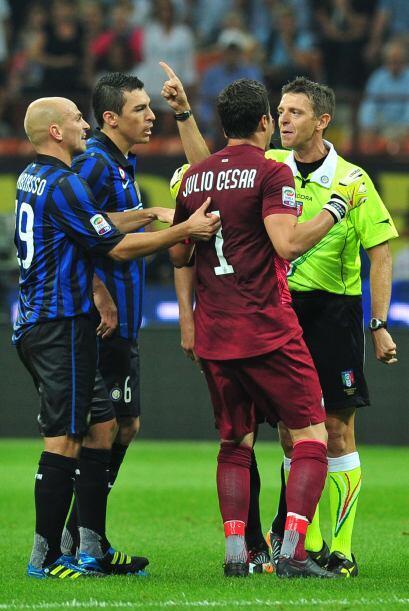 Los ánimos subieron de tono y la falta de juego en el Inter dejaron en e...