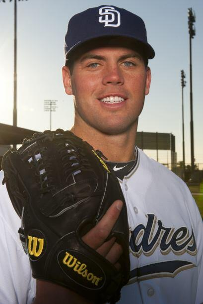 El número 33 de los Padres, el pitcher Clayton Richard, la temporada pas...