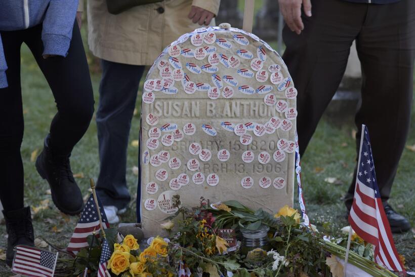 La líder sufragista murió 14 años antes de que a la...
