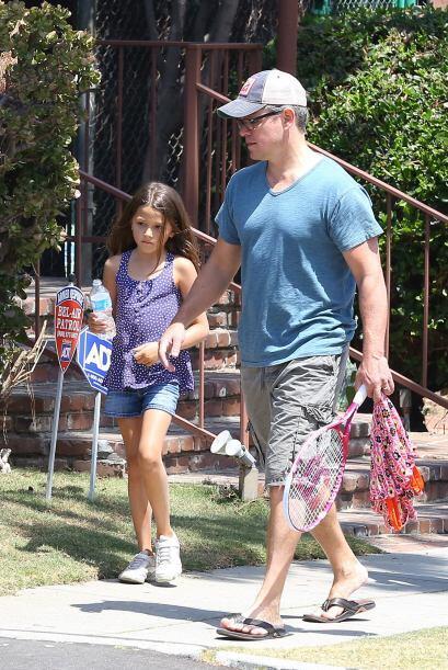 Matt Damon es catalogado como uno de los mejores padres del espect&aacut...