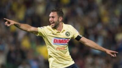 Miguel Layún hizo los cuatro goles con los que América vence a Santos en...