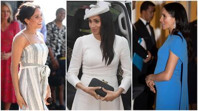 Meghan Markle luce tres vestidos pero ninguno sorprendió tanto como sus sandalias
