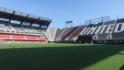 Vista espectacular, tecnología de primera y cocina mexicana, los encantos del nuevo estadio del DC United