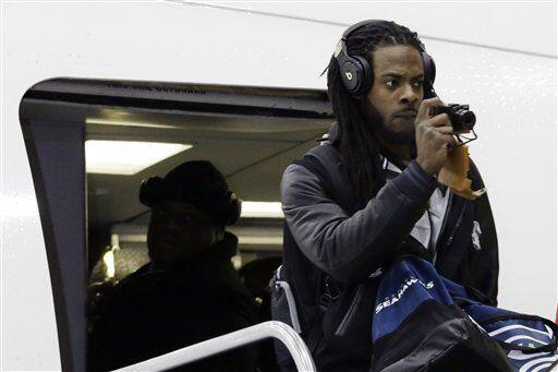 Por su parte, los Seattle Seahawks llegaron con dirección a Jersey City...