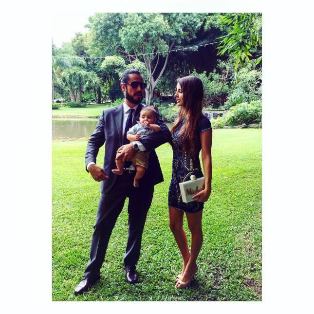 Michelle Renaud celebra con tierna imagen los primeros 6 meses de su bebé