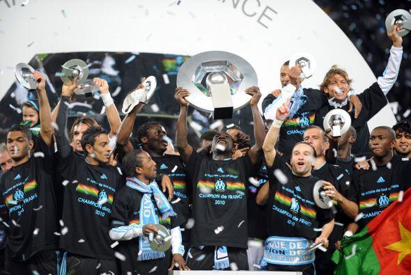Finalmente, el balompié de Francia tuvo como campeón de Liga al Olympiqu...