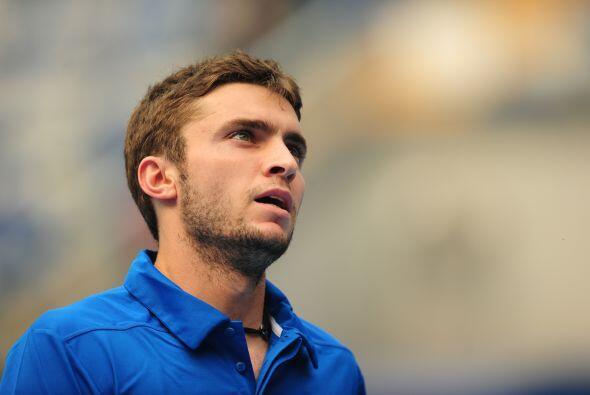 El francés Gilles Simon sucumbió 6-3 y 6-2.