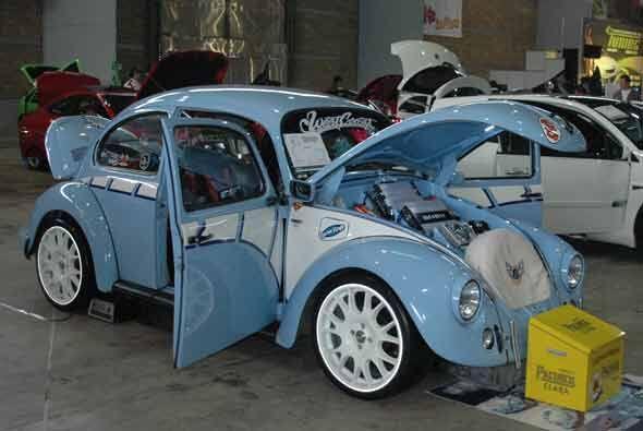 El viejo VW Beetle sigue siendo uno de los consentidos y sus seguidores...
