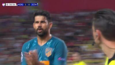 ¡GOOOL! Diego Costa anota para Atlético de Madrid
