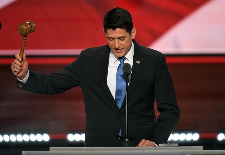 Paul Ryan anuncia oficialmente a Donald Trump como nominado del Partido...