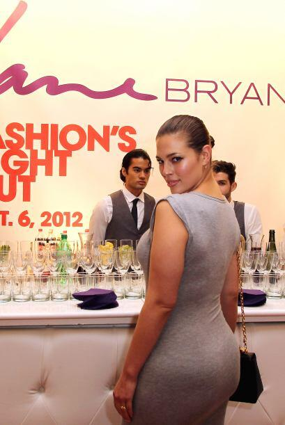 Ashley Graham fue la musa en un anuncio de Lane Bryant, el cua fue remov...