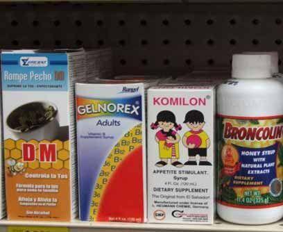 Algunas farmacias tienen medicinas reconocidas de tradición en Centroamé...