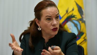 """""""Dedico este triunfo a la igualdad de género"""": María Fernanda Espinosa, presidenta de la Asamblea General de la ONU"""
