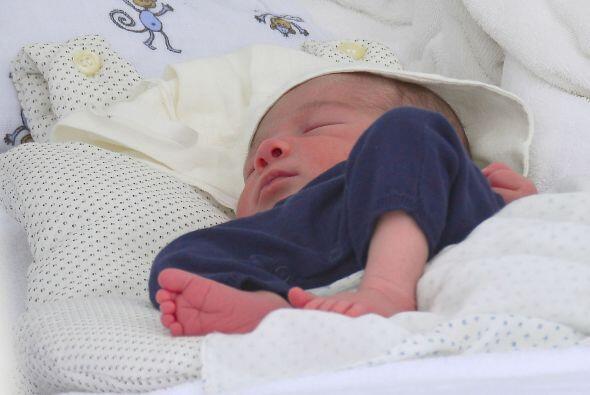 El pequeño Eric disfrutó de una buena siesta. Mira aquí los videos más c...