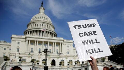 """""""Trumpcare causará muertes"""". Médicos, hospitales, activistas y..."""