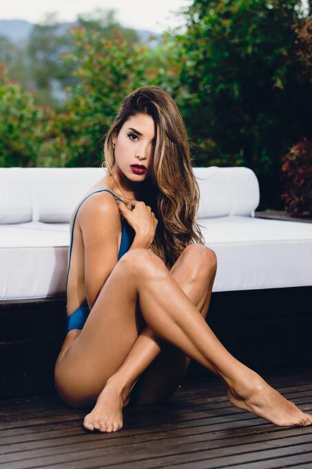 El sexy ejemplo de Malory Henao con su trabajo físico para tener un cuer...