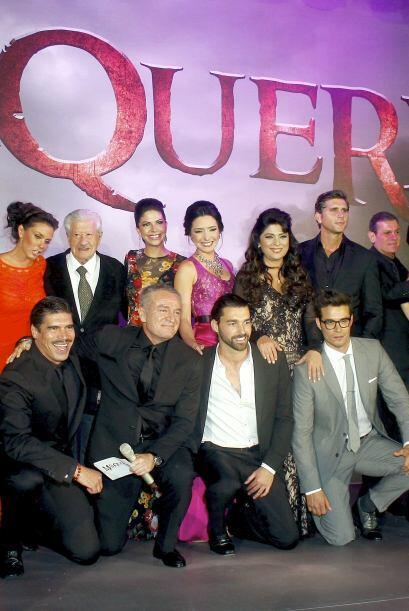 Tienen mucha confianza en la trama de la telenovela.