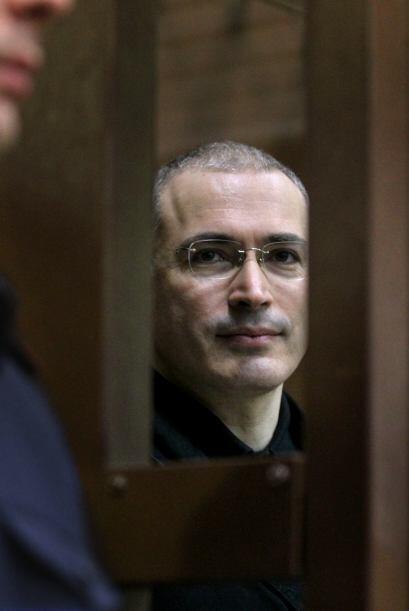 Mijaíl Khodorkovsky  Delito: Mijaíl Khodorkovsky, ex propi...