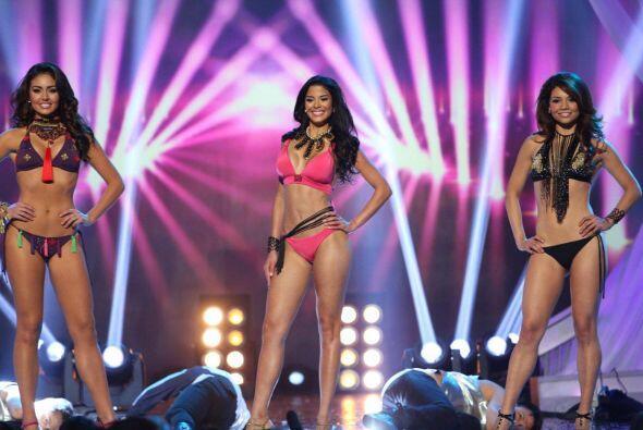 Nuestra Belleza Latina quiso sorprender con un desfile explosivo para de...