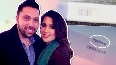 Vocalista de La Banda El Recodo recibe regalo del Día del Padre por adelantado: su esposa le anuncia que será papá