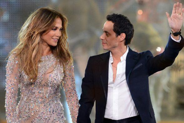 Pronto, ella encontró consuelo con Marc Anthony aunque, claro, su unión...