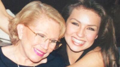 El Día de la Madre puso sentimental a la actriz