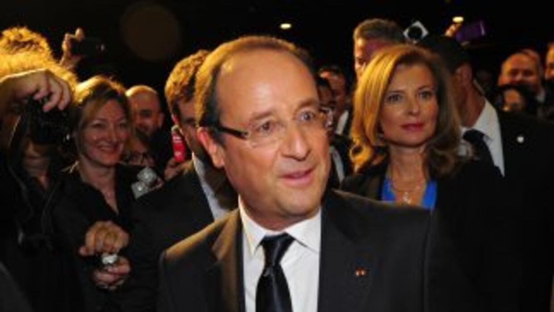 El presidente francésFrancois Hollande.