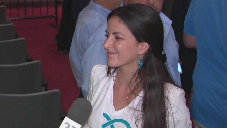 Activista Rosa María Payá: ''Pedimos a EEUU y al resto de gobiernos demo...