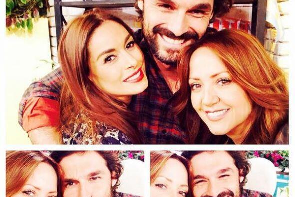 Galilea y Andrea con Iván Sánchez. Mira aquí los vi...