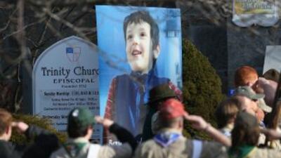 Benjamin Wheeler, uno de los menores víctimas de Adam Lanza en Newtown.