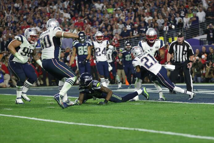 Patriots ganan un Super Bowl memorable - El cuarto pase de touchdown Bra...