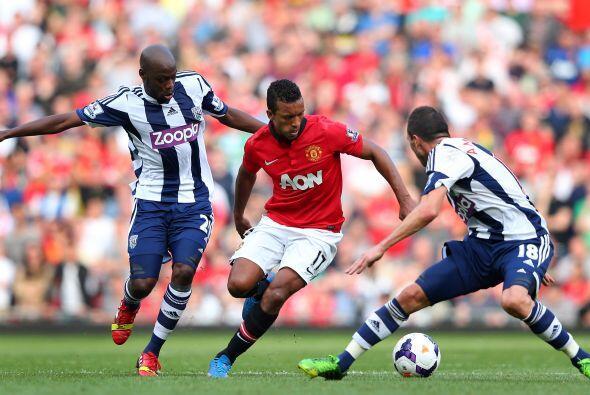 El Manchester fue un equipo inficiente que no supo generar posibilidades.