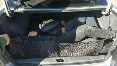 En fotos: decomisos de droga y arrestos de migrantes en la frontera