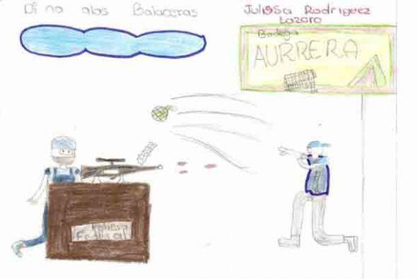 Los niños de un estado en el oeste de México asediado por...