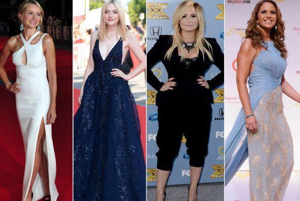 Aquí te traemos los 'looks' más 'glamourosos' y los m&aacu...