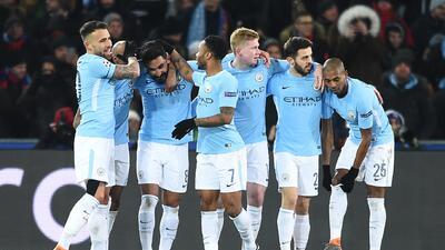 En fotos: Manchester City selló la serie ante el Basel con un 4-0 de visita en los octavos de la Champions