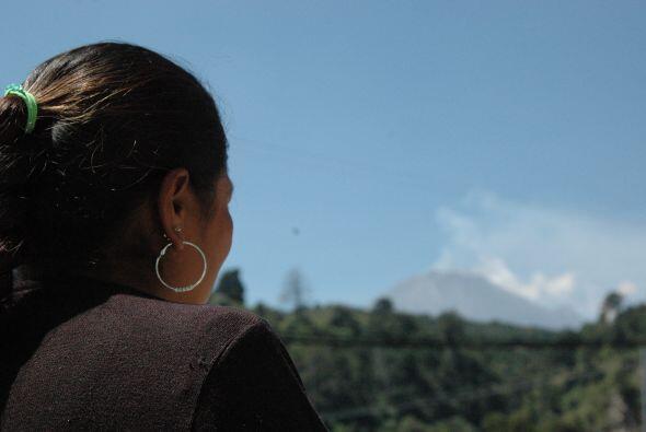 Este volcán es considerado el más activo de México....