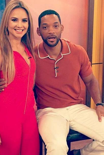 """Que gran actor y ser humano es Will Smith. Hoy en la casita de Des..."
