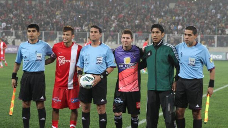 Neymar MEssi amigos